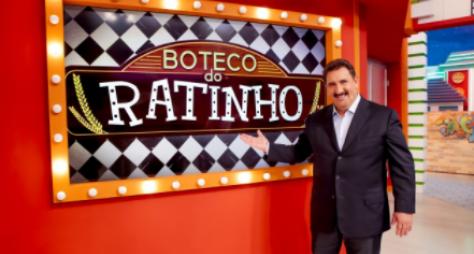 """""""Boteco do Ratinho"""" retorna com inéditos em programa ao vivo nesta quarta"""