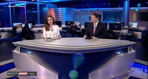 """""""RedeTV News"""" terá novo cenário e será exibido em novo horário"""