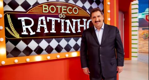 """""""Boteco do Ratinho"""" ao vivo recebe Guilherme, Santiago, Gian e Giovani"""