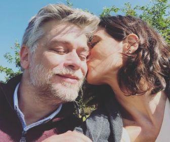 Fábio Assunção comemora reencontro com Mariana Lima