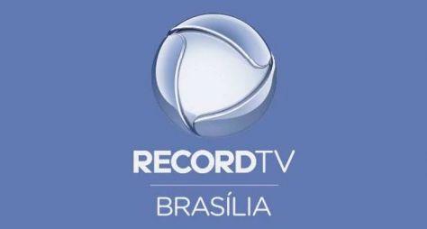 Record TV Brasília registra a sua maior média e lidera na média-dia