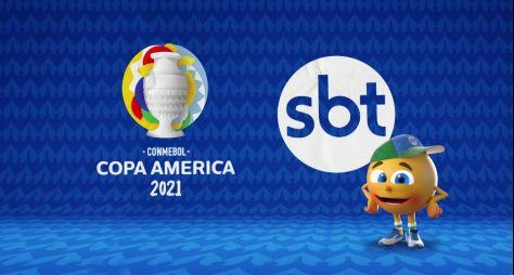 SBT alcança a liderança com transmissão da Copa América