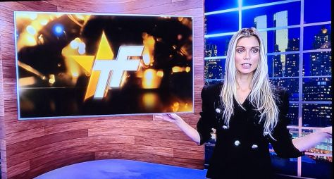 "Flavia Viana, Marcelo Zangrandi e Alinne Prado gravam piloto do ""TV Fama"""