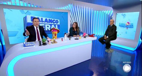 """""""Balanço Geral SP"""" vence confronto com """"Jornal Hoje"""", com Maju Coutiinho"""