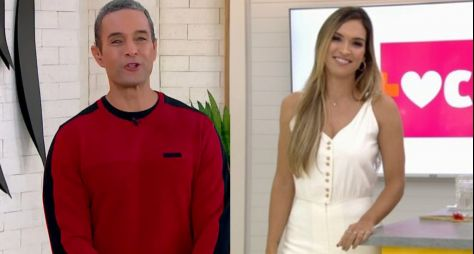 """Fabrício Battaglini e Talitha Morete apresentam o """"Mais Você"""" até a volta de Ana"""