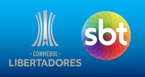 SBT: Copa Libertadores impacta 2,1 milhões de pessoas e garante a vice-liderança