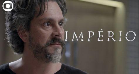 """Reapresentação de """"Império"""" afasta público da TV aberta"""