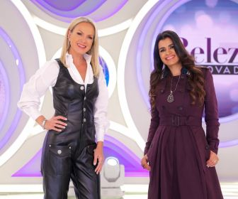 """Eliana realiza casamento no """"Beleza Renovada"""" e recebe a cantora Damares"""
