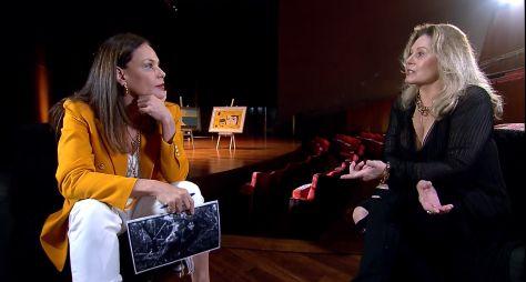 Zezé Motta e Vera Fischer falam com exclusividade ao Domingo Espetacular