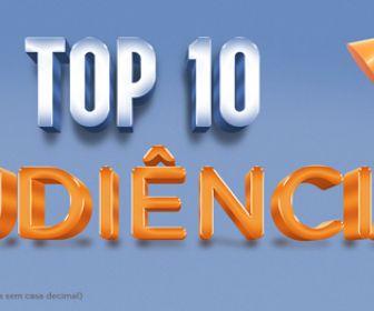 Superprodução Gênesis e JR lideram novamente o Top 10 semanal da Record TV