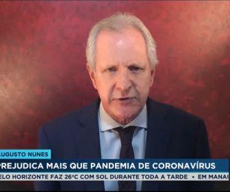 Augusto Nunes deixa a RecordNews e segue comentarista do Jornal da Record