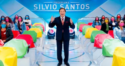 Programa Silvio Santos retorna totalmente inédito neste domingo
