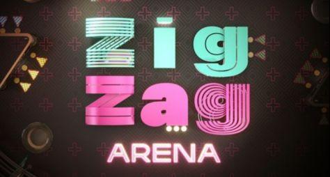 """Conheça o logo do """"Zig Zag Arena"""" e seu formato"""