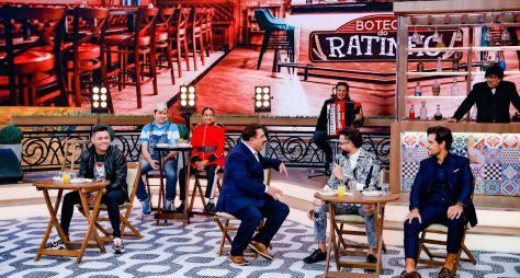 """""""Boteco do Ratinho"""" traz Felipe Araújo, Latino e mais nesta quarta"""