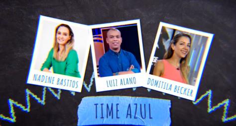 """""""Domingo Legal"""" traz equipe de esportes do SBT competindo com humoristas"""