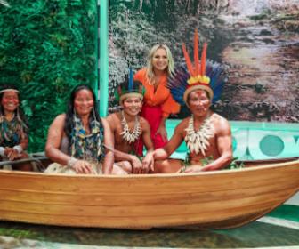 Programa Eliana realiza sonho de jovem indígena