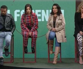 A Fazenda 13: Borel, Liziane, Solange e Erika estão na primeira roça