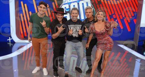 """Flávia Alessandra e André Marques participam do """"Caldeirão"""""""