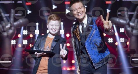 "Gustavo Bardim é campeão ""The Voice Kids"" e Michel Teló, o técnico hexacampeão"