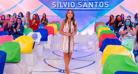 Inédito! Silvio Santos e Patricia Abravanel apresentam o Programa Silvio Santos