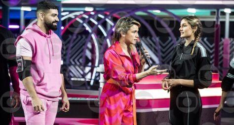 """Sasha e Dilsinho são os competidores do """"Zig Zag Arena"""""""