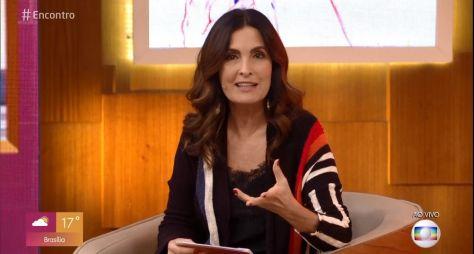 Fátima Bernardes se afasta do Encontro para nova cirurgia