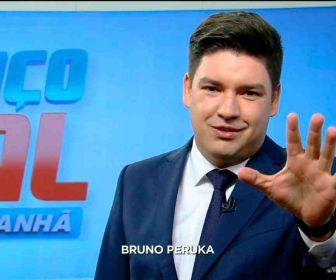Afastado do Balanço Geral Manhã, Bruno Peruka pede demissão da Record TV