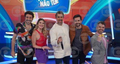 """Marcos Mion recebe Dani Calabresa e Welder Rodrigues no """"Caldeirão"""""""