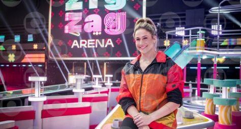 Zig Zag Arena: Professores se divertem no megapalco do programa