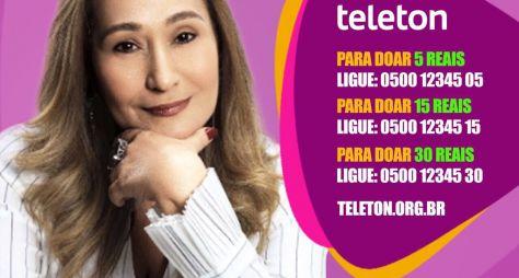 """Sônia Abrão é presença confirmada no """"Teleton"""", do SBT"""