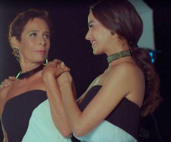 Fernanda Marques estreia em novelas como filha de Andrea Beltrão