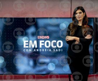 """""""Em Foco com Andréia Sadi"""" está de volta à GloboNews"""