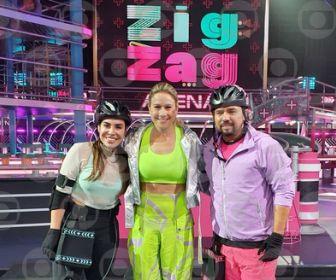 "Naiara Azevedo encara Xand Avião no ""Zig Zag Arena"""