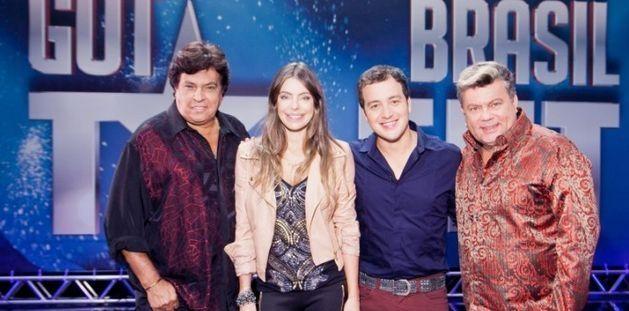 Sidney Magal, Daniela Cicarell, Rafael Cortez e Milton Cunha. Foto: Divulgação