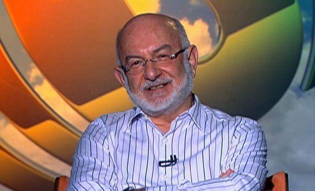 O autor Silvio de Abreu. Foto: Divulgação/TV Globo