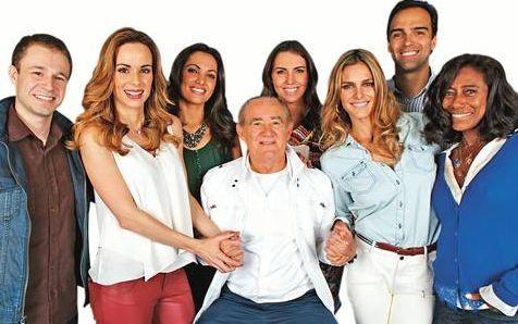 O time da Globo. Foto: Divulgação