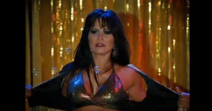 Carla Cabral interpretar Laura, uma stripper. Foto: Divulgação