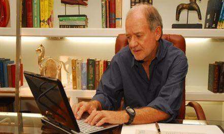 O autor Marcílio Moraes. Foto: Divulgação