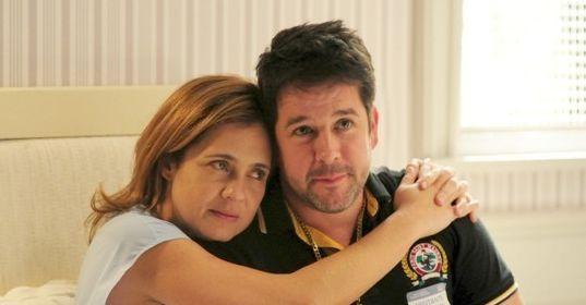 Adriana Esteves e Murilo Benício, os protagonistas de