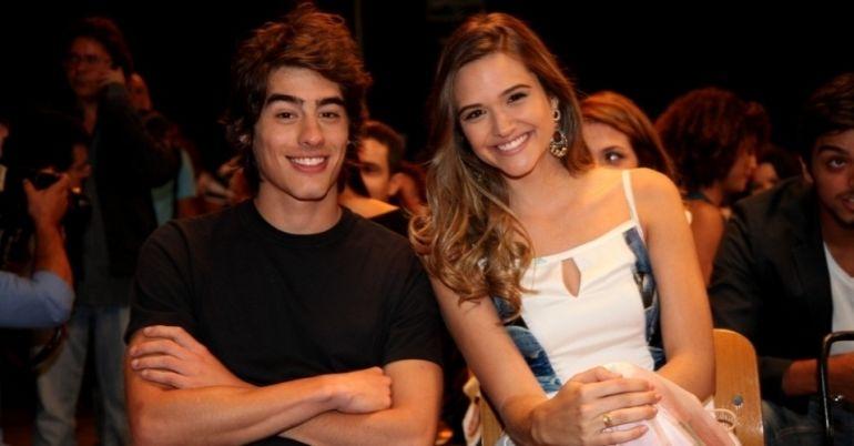 Vinicius Tardio e Juliana Paiva, os protagonistas da trama das sete