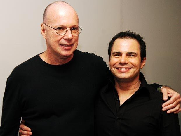 Gilberto Braga e Ricardo Linhares. Foto: Divulgação