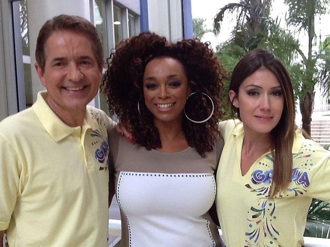 Carlos Tramontina, Paula Lima e Michelle Barros (Divulgação)