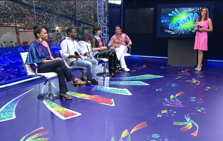 Equipe de comentaristas do RJ de 2013 (Reprodução)