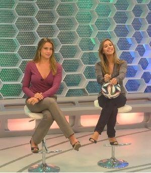 Fernanda Gentil e Cristiane Dias