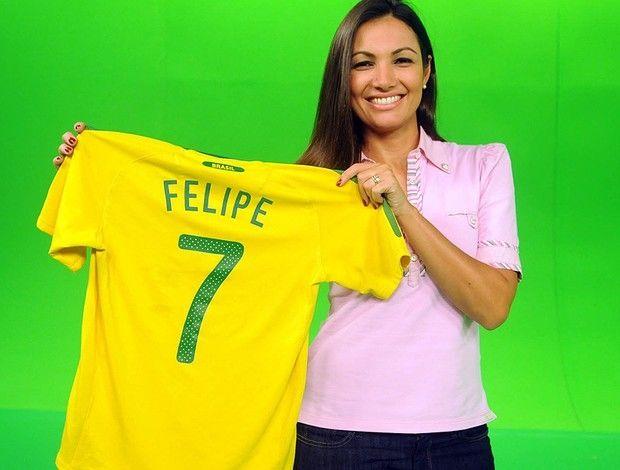Patrícia Poeta acompanhará a Seleção em 2014