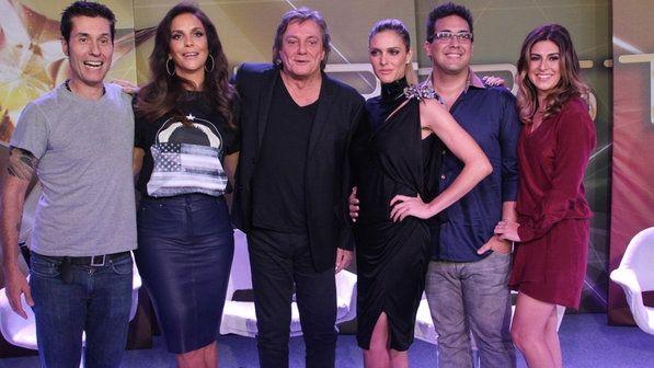 Equipe do SuperStar, novo programa musical da Globo