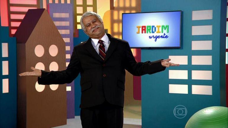 Quadro Jardim Urgente, no Tá no Ar (Foto: Reprodução?TV Globo)
