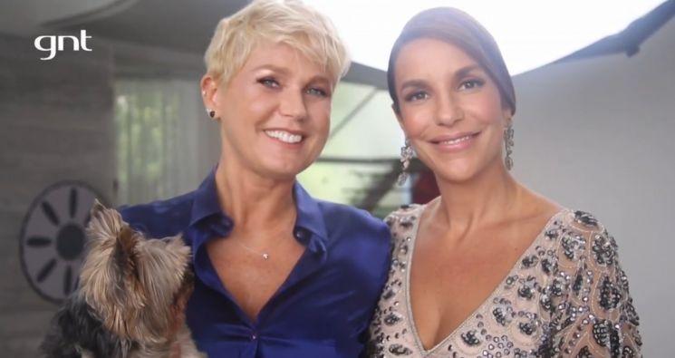 Xuxa foi convidada de estreia de Ivete Sangalo à frente do SuperBonita. Foto: Divulgação/GNT