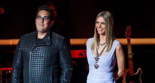 André Marques e Fernanda Lima na primeira edição do SuperStar (Foto: Divulgação/TV Globo)