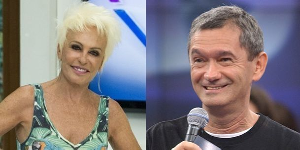 Ana Maria Braga e Serginho Groisman (Fotos: Reprodução?TV Globo)